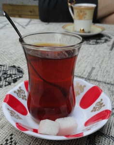 If you're ever in Bursa, just look for me at the nearest tea shop.