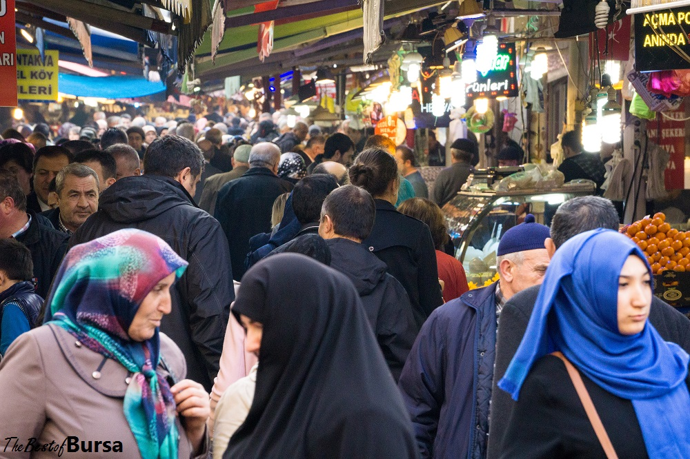 Bursa's Busy Bazaar