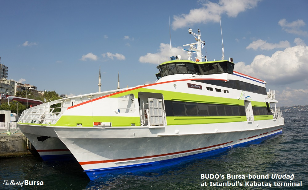 The Istanbul to Bursa Ferry (Or, How I Lower My Blood Pressure When In Istanbul)