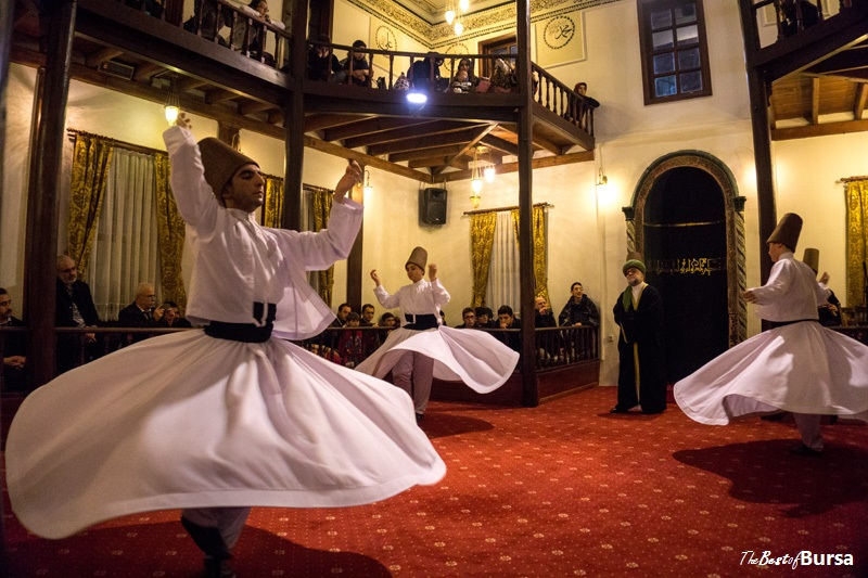 Bursa's Whirling Dervishes