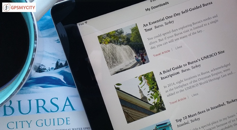 Bursa Articles Available on the GPSmyCity iOS App!